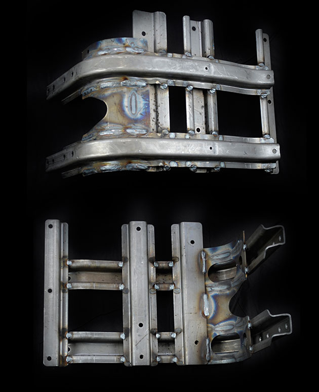 WELDED AND RIVETED ASSEMBLIES