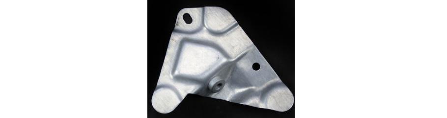 Aluminium Pressing with stud